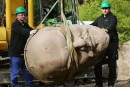 Украина полностью очищена от истуканов и идолов Бланка