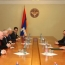 Karabakh President, OSCE envoys talk Azeri aggression, ceasefire
