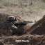 Azerbaijani troops launch demining activities in Karabakh neutral zone