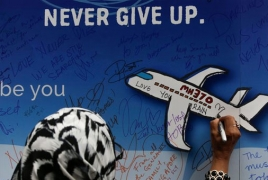 """Flight MH370 """"made uncontrolled descent"""" into the Indian Ocean"""