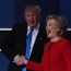 Клинтон опережает Трампа по популярности на 2-3 процентных пункта