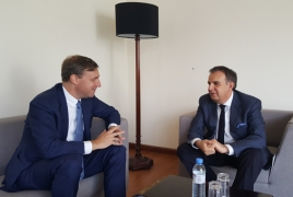 Armenia-EU framework agreement in focus of Yerevan meeting