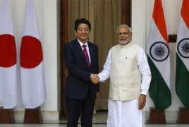 Indian PM heads to Japan to seal nuclear deal