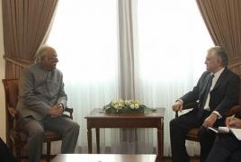 Армения и Индия обсуждают возможность возобновления рейсов Ереван – Нью-Дели