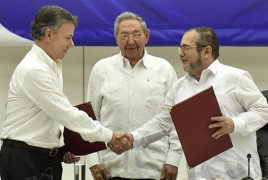Colombia, FARC rebels to sign new peace deal on November 27