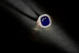 Carat Diamond Solitaire Ring On Hand