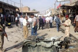 Suicide car bomb kills 12 south of Baghdad