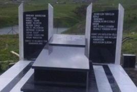 В Турции установлен памятник Национальному герою Армении Монте Мелконяну
