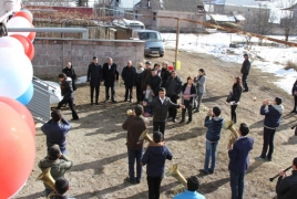 20 families in Armenia's Lori province get decent housing conditions