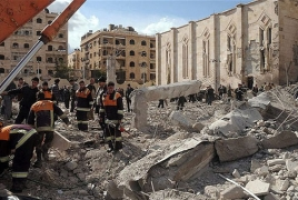 Russia says field hospital hit in Syria's Aleppo, nurse killed