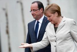 Merkel, Hollande want extention of Russia sanctions over Ukraine