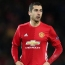 Arsenal's Thierry Henry, Man United's Henrikh Mkhitaryan hail each other