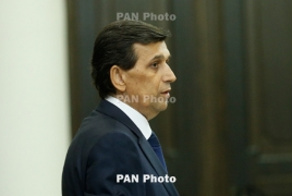 Armenia's Minister of Emergency Situations dies in hospital