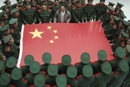 China holds first ever live-fire drills with aircraft carrier, fighters
