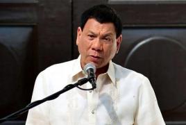 Philippine president says