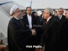 Iran's President arrives in Armenia