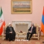 Iran wants to further develop ties with Armenia: President