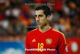 Мхитарян в шестой раз подряд признан лучшим футболистом года в Армении