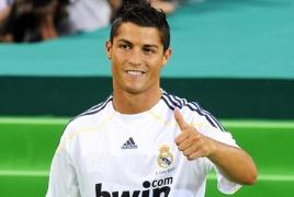 Cristiano Ronaldo named 2016 Best Player at Globe Soccer Awards
