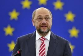EU's Schulz not to run for German chancellery - media