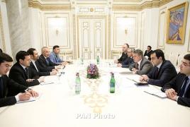Премьер Армении обсудил с послами Ирана и Туркменистана вопросы относительно поставок энергоресурсов
