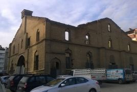Turkey's Armenian church turned into parking lot