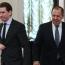 Лавров и Курц на переговорах в Москве обсудят карабахское урегулирование