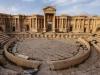 Боевики ИГ взорвали фасад древнеримского театра II века в Пальмире