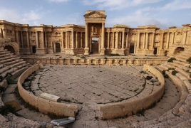 IS destroys part of Roman theater in historic Palmyra