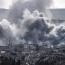 Air strike kills dozens at jihadist camp in Syria, monitor says