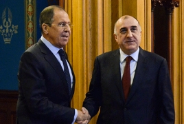 Russian, Azeri foreign ministers talk Karabakh settlement in Moscow