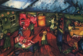 Largest ever Marc Chagall exhibit in Canada opens in Montreal