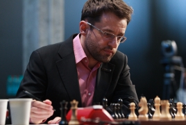 Armenia's Levon Aronian comes in third at Tata Steel Wijk aan Zee