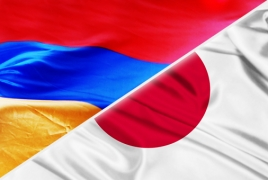 Japan ready to boost ties with Armenia, PM Abe says