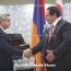 Оценка президента не повлияла на решение Царукяна вернуться в политику