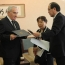Галуст Саакян в Японии договорился об углублении отношений между Хиросимой и Ереваном