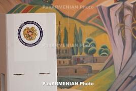 Стартовал процесс выдвижения партий и блоков на парламентские выборы в Армении