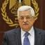 President Abbas calls Israeli settler law an