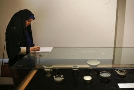 Iran displays ancient Persian artifacts returned from Europe, U.S.