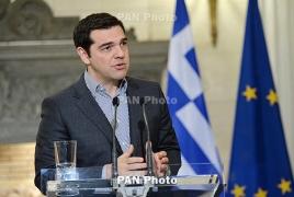 Greece's Tsipras warns IMF, Germany to stop