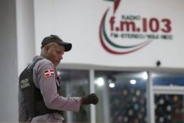 Two radio journalists shot dead mid-broadcast in Dominican Republic
