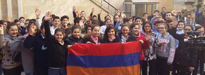 Гумпомощь Армении доставлена в сирийскую Латакию
