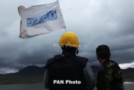 No incidents registered as OSCE monitors Armenia-Azerbaijan border