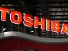 S&P downgrade warning sends Toshiba shares tumbling