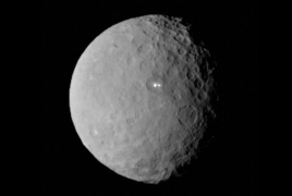 Organic materials spotted on dwarf planet Ceres