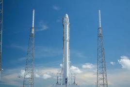 SpaceX произвела первый запуск ,,,