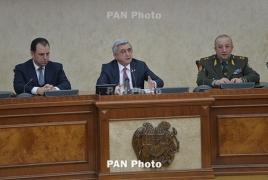 Саргсян: Стратегический союз Армении и России незаменим для сохранения стабильности в регионе