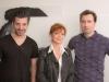 Сьюзан Сарандон и художник Тигран Дзитохцян снимаются в американском документальном фильме