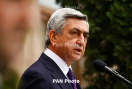 Саргсян в Брюсселе проведет ряд встреч с руководством ЕС и НАТО