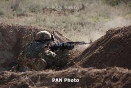 Минобороны Армении опубликовало видео отражения атаки азербайджанских сил